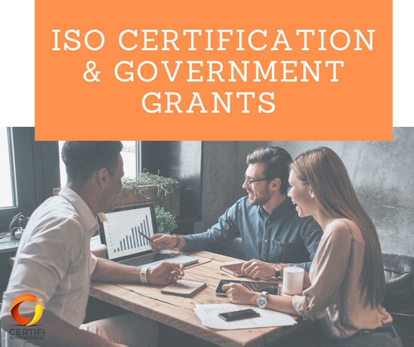 Iso Certification Government Grants