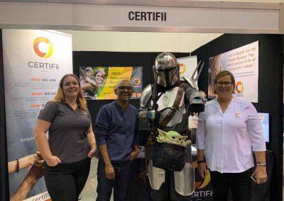 Perth Expo Certifii Visitors
